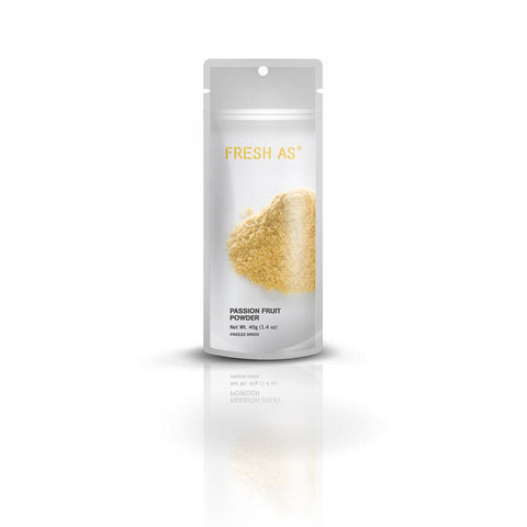 FRESH AS Freeze Dried Passion Fruit Powder, 40g