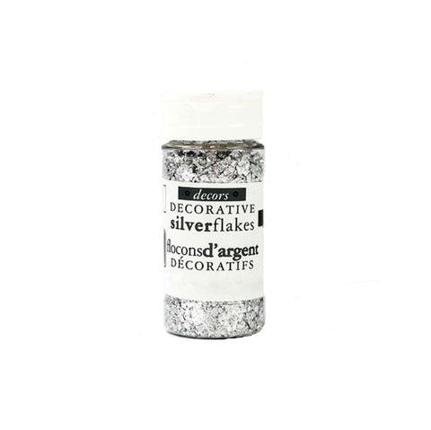 GUSTA SUPPLIES Decorative Silver Flakes