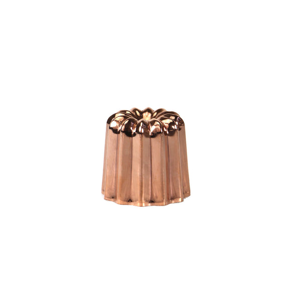 GUSTA SUPPLIES Copper Canele Mould with Tinned Interior
