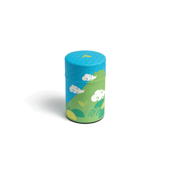 GUSTA SUPPLIES Japanese Tea Can with Metal Internal Lid