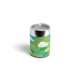 GUSTA SUPPLIES Japanese Tea Can with Poly Internal Lid, Nature