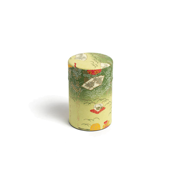 GUSTA SUPPLIES Japanese Tea Can with Poly Internal Lid, Picnic