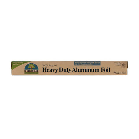 IF YOU CARE 100% Recycled Heavy Duty Aluminum Foil, 30 sq.ft.
