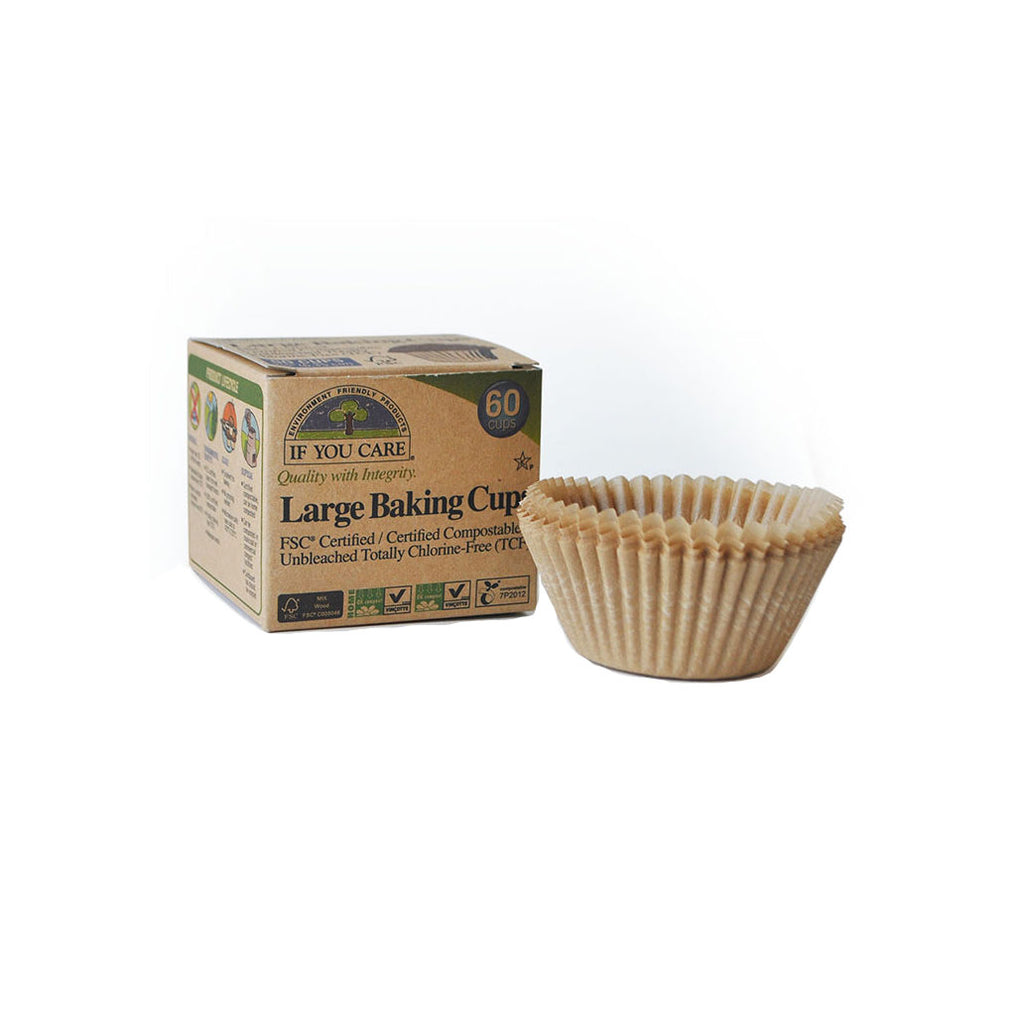 IF YOU CARE Eco-Friendly Large Baking Cups (pack of 60)