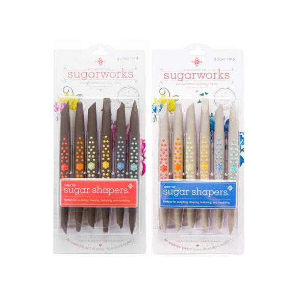 INNOVATIVE SUGARWORKS Sugar Shapers, set of 6 with mesh bag