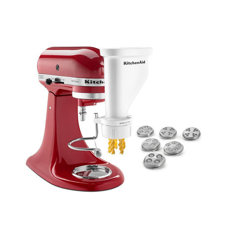KITCHENAID Gourmet Pasta Press Attachment with 6 Interchangeable Pasta Plates