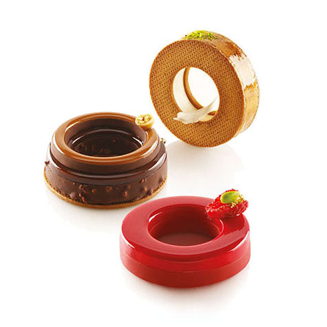 SILIKOMART The Ring 65 (Set of 2 Silicone Moulds + Cutter)