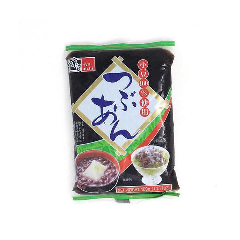 KYONICHI Tsubuan Red Bean Paste, Coarse, 400g