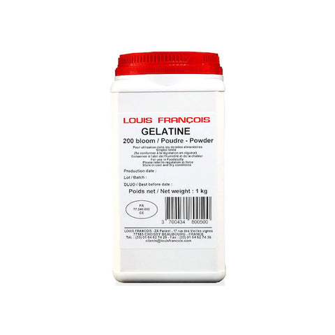 LOUIS FRANCOIS Gelatin Powder, Gold Grade
