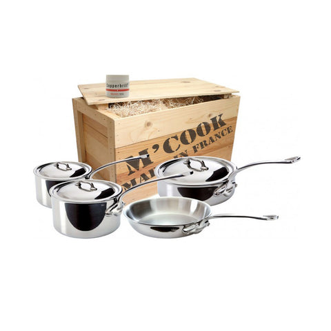 MAUVIEL M'Cook 7 piece S/S Cookware Set
