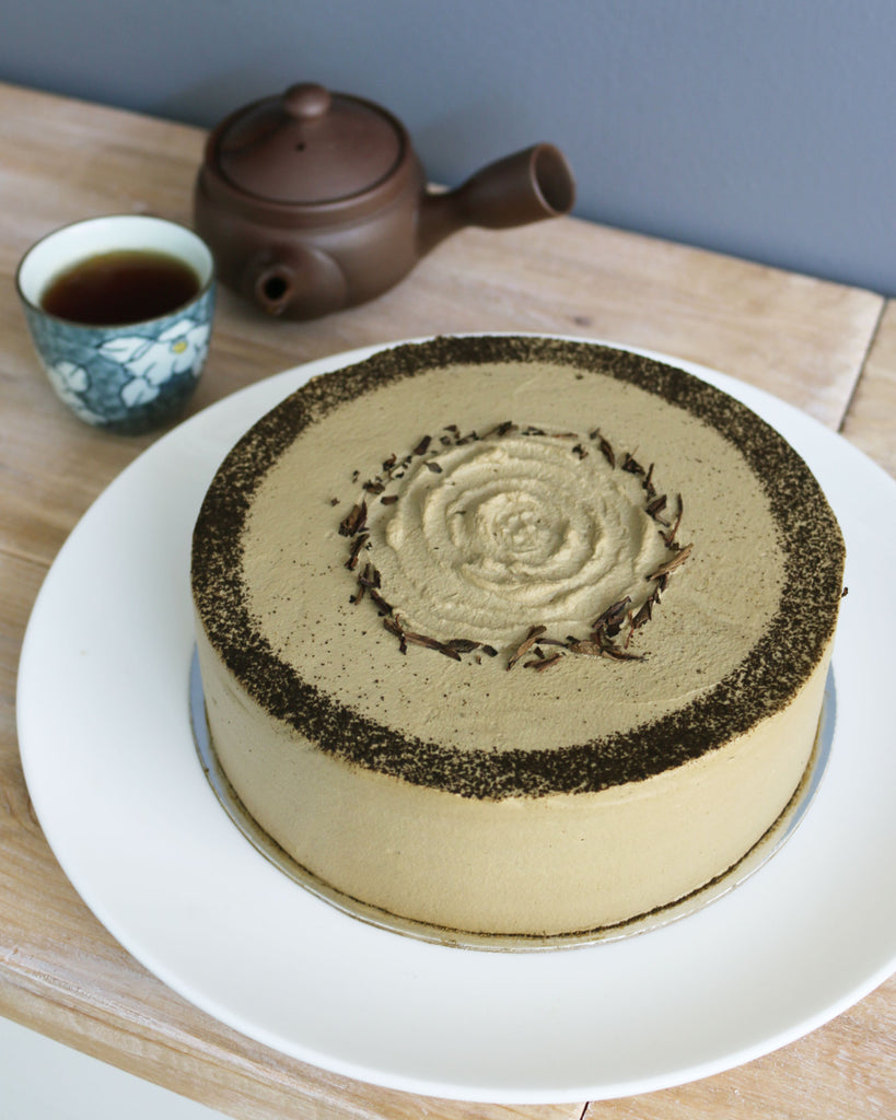 "March 2019 Feature: Mille Crêpe ""Hojicha"""
