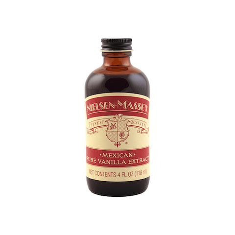 NIELSEN MASSEY Mexican Pure Vanilla Extract, 4oz