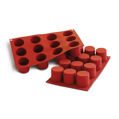 SILIKOMART SF098 Silicone Mould, Cylinders