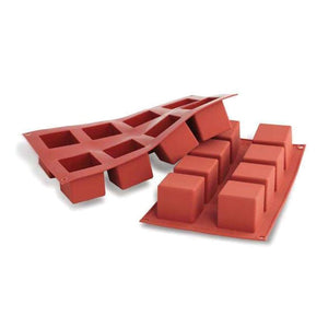 SILIKOMART SF104 Silicone Mould, Cube