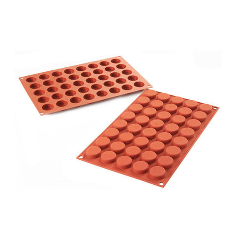SILIKOMART SF180 Silicone Mould, Round Tablet