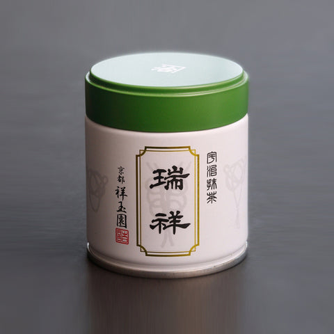 SHOGYOKUEN Ceremonial Grade Matcha, Powdered Green Tea, #1 Suisho, 40g