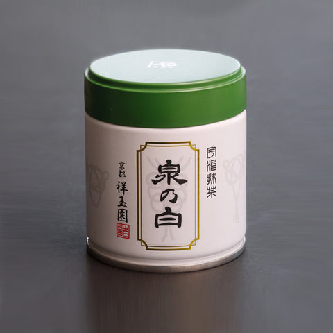 SHOGYOKUEN Ceremonial Grade Matcha, Powdered Green Tea, #8 Izumi no Shiro, 40g