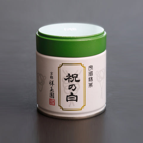 SHOGYOKUEN Ceremonial Grade Matcha, Powdered Green Tea, #7 Iwai no Shiro, 40g