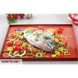 SILIKOMART Tapis Roulade - Silicone Rolling Mat, 325x325mm