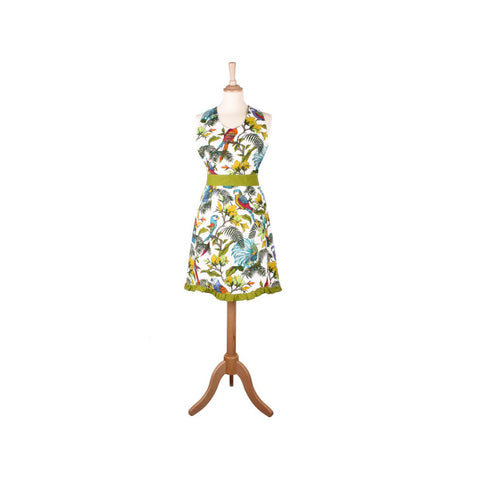 ULSTER WEAVERS Tropical Birds Styled Cotton Apron