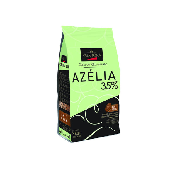 VALRHONA Azelia 35%, Milk Chocolate Couverture