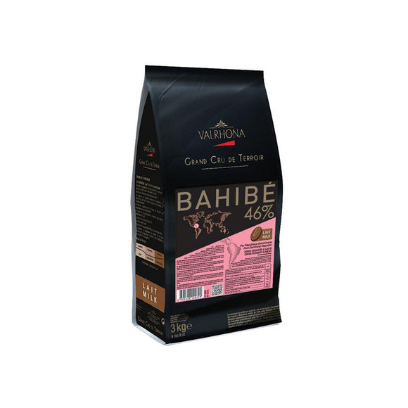 VALRHONA Bahibe 46%, Milk Chocolate Couverture
