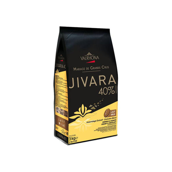 VALRHONA Jivara 40%, Milk Chocolate Couverture