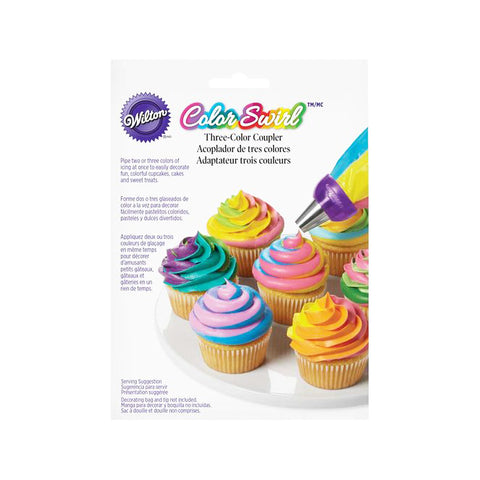 WILTON Colour Swirl 3-colour Coupler