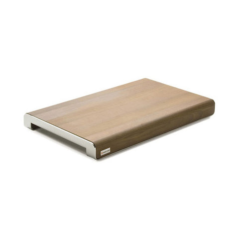 "WUSTHOF Thermo Beech Wood Cutting Board with S/S, 15.5"" x 9.75"""