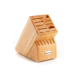 WUSTHOF Natural Beech Knife Block, 17 Slots