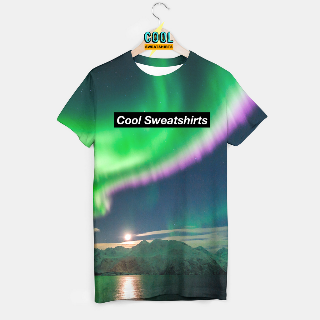 Cool Sweatshirts: Alaskan Lights Shirt - Northern Lights - Aurora Borealis