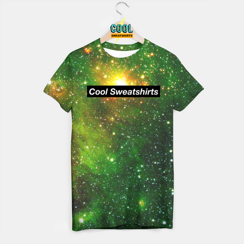 Cool Sweatshirts for men & women: Green Galaxy Shirt, Nasa, Space, Nebula, SexySweaters, Sexy Sweaters, EDM, Rave, Ugly Christmas Sweaters, Mr Gugu & Miss Go, HypeBeast