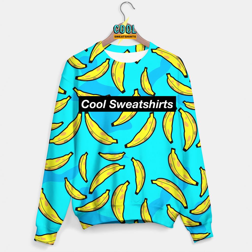Cool Sweatshirts: Bananas Sweater Fruit Food