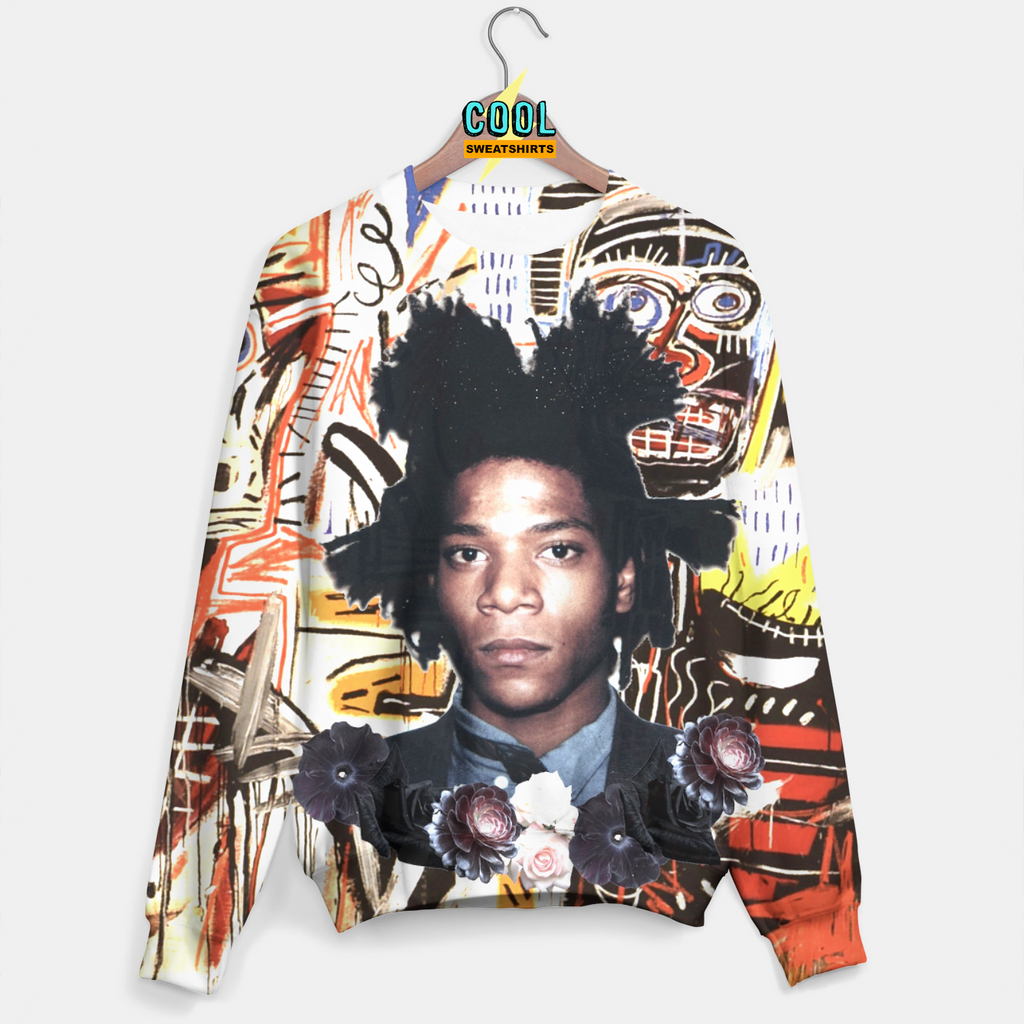 Cool Sweatshirts: Basquiat Phillistines Sweater, 27 Club, Art, Painting, Artist, Modern, Abstract