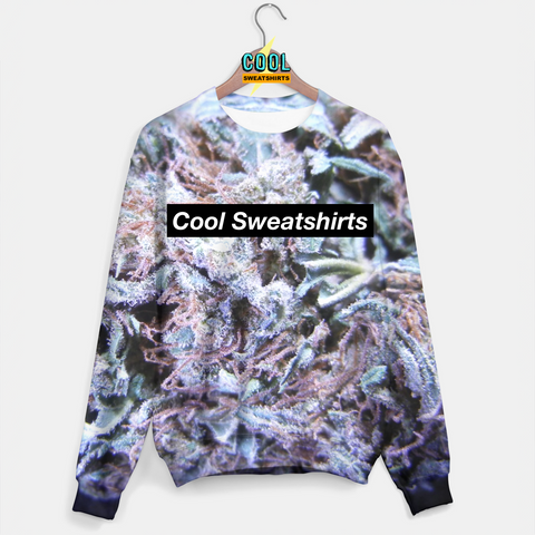Cool Sweatshirts: Blue Dream Weed Nugget Sweater Sweats