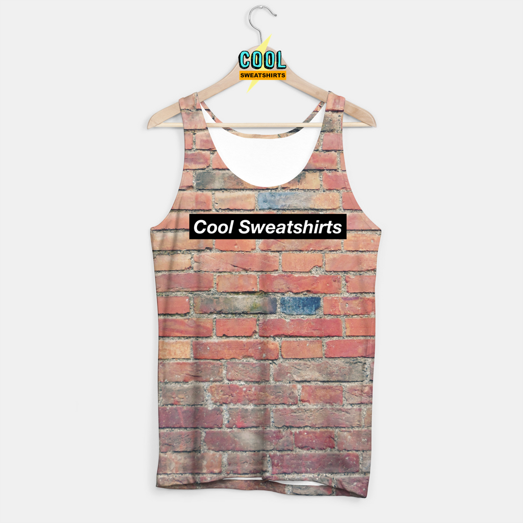 Cool Sweatshirts: Bricks Tank Red Bricks