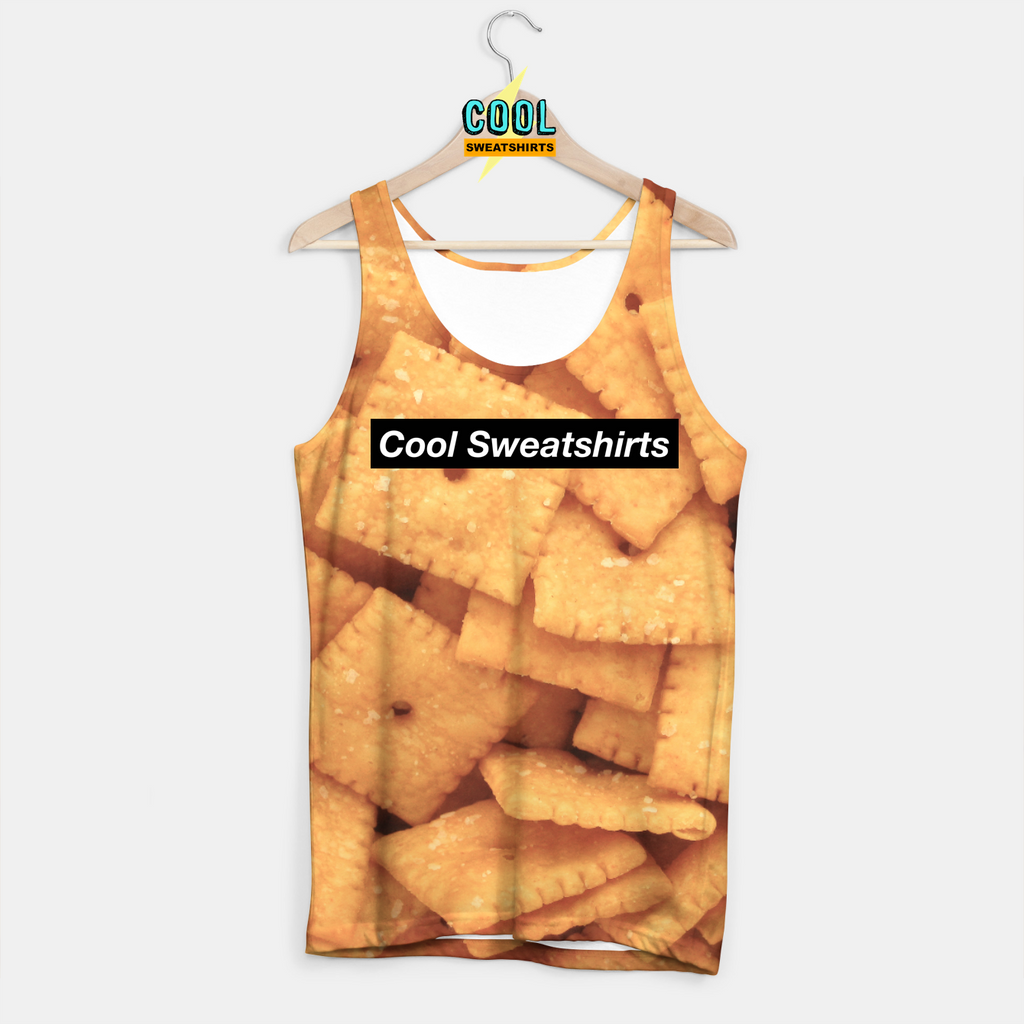Cool Sweatshirts: Cheez It Tank Food Snacks