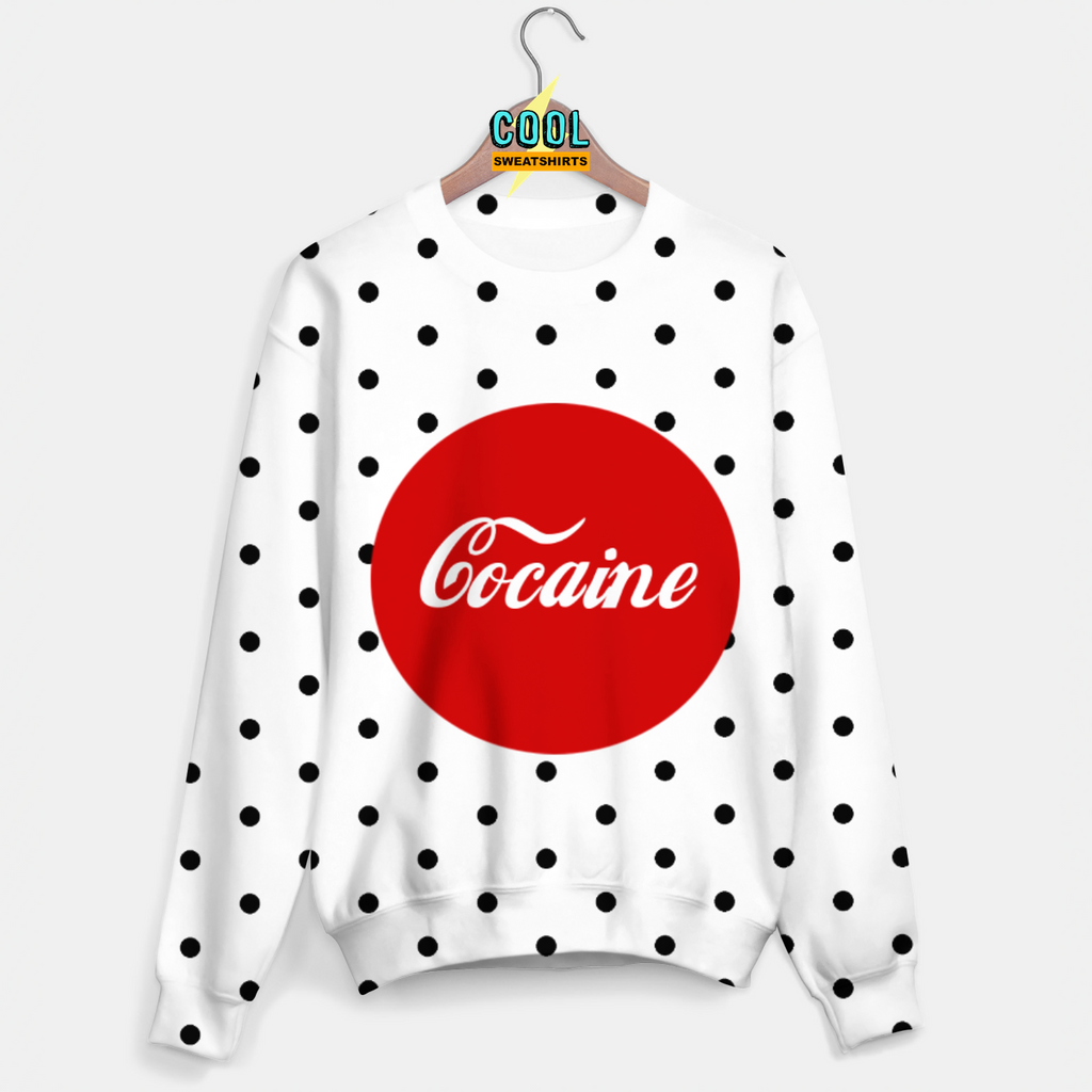 Cool Sweatshirts: Cocaine Coca Cola Sweater Meme