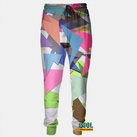 Cool Sweatshirts for men & women: 90s Cut-Out Joggers Memphis Print SexySweaters, Sexy Sweaters, EDM, Rave, Ugly Christmas Sweaters, Meme Clothes, Mr. Gugu & Miss Go, Hype Beast, HypeBeast