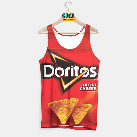 Cool Sweatshirts for men & women: Doritos Nacho Cheese Chips Tank, SexySweaters, Sexy Sweaters, EDM, Rave, Ugly Christmas Sweaters, Meme, Mr. Gugu & Miss Go, HypeBeast