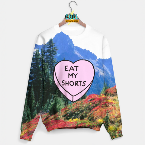 Cool Sweatshirts for men & women: Eat My Shorts Sweater, SexySweaters, Sexy Sweaters, EDM, Rave, Ugly Christmas Sweaters, Meme, Mr. Gugu & Miss Go, HypeBeast