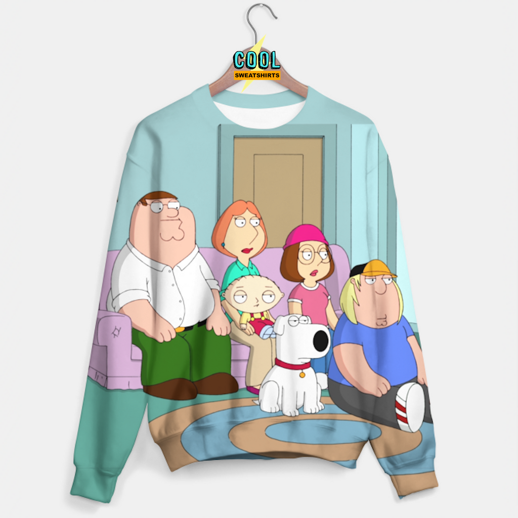 Cool Sweatshirts for men & women: Family Guy Sweater, SexySweaters, Sexy Sweaters, EDM, Rave, Ugly Christmas Sweaters, Meme, Mr. Gugu & Miss Go, HypeBeast