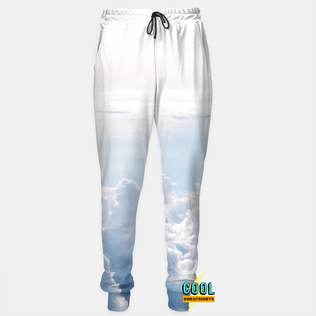 Cool Sweatshirts for men & women: Fed Up Clouds Joggers Sweatpants, FedEx, SexySweaters, Sexy Sweaters, EDM, Rave, Ugly Christmas Sweaters, Meme, Mr. Gugu & Miss Go, HypeBeast