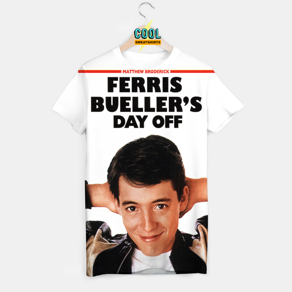 Cool Sweatshirts for men & women: Ferris Bueller's Day Off Shirt, SexySweaters, Sexy Sweaters, EDM, Rave, Ugly Christmas Sweaters, Meme, Mr. Gugu & Miss Go, HypeBeast