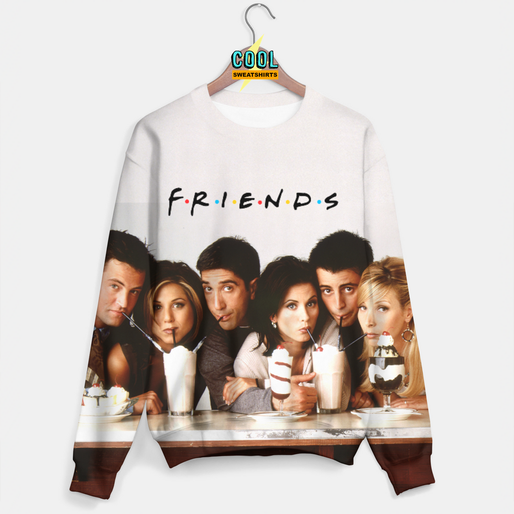 Cool Sweatshirts for men & women: Friends Cast, TV Show Sweater, SexySweaters, Sexy Sweaters, EDM, Rave, Ugly Christmas Sweaters, Meme, Mr. Gugu & Miss Go, HypeBeast