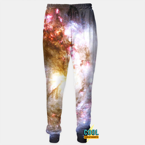 Cool Sweatshirts for men & women: Frost Galaxy Joggers, Nebula, Cosmos, Space, SexySweaters, Sexy Sweaters, EDM, Rave, Ugly Christmas Sweaters, Meme, Mr. Gugu & Miss Go, HypeBeast