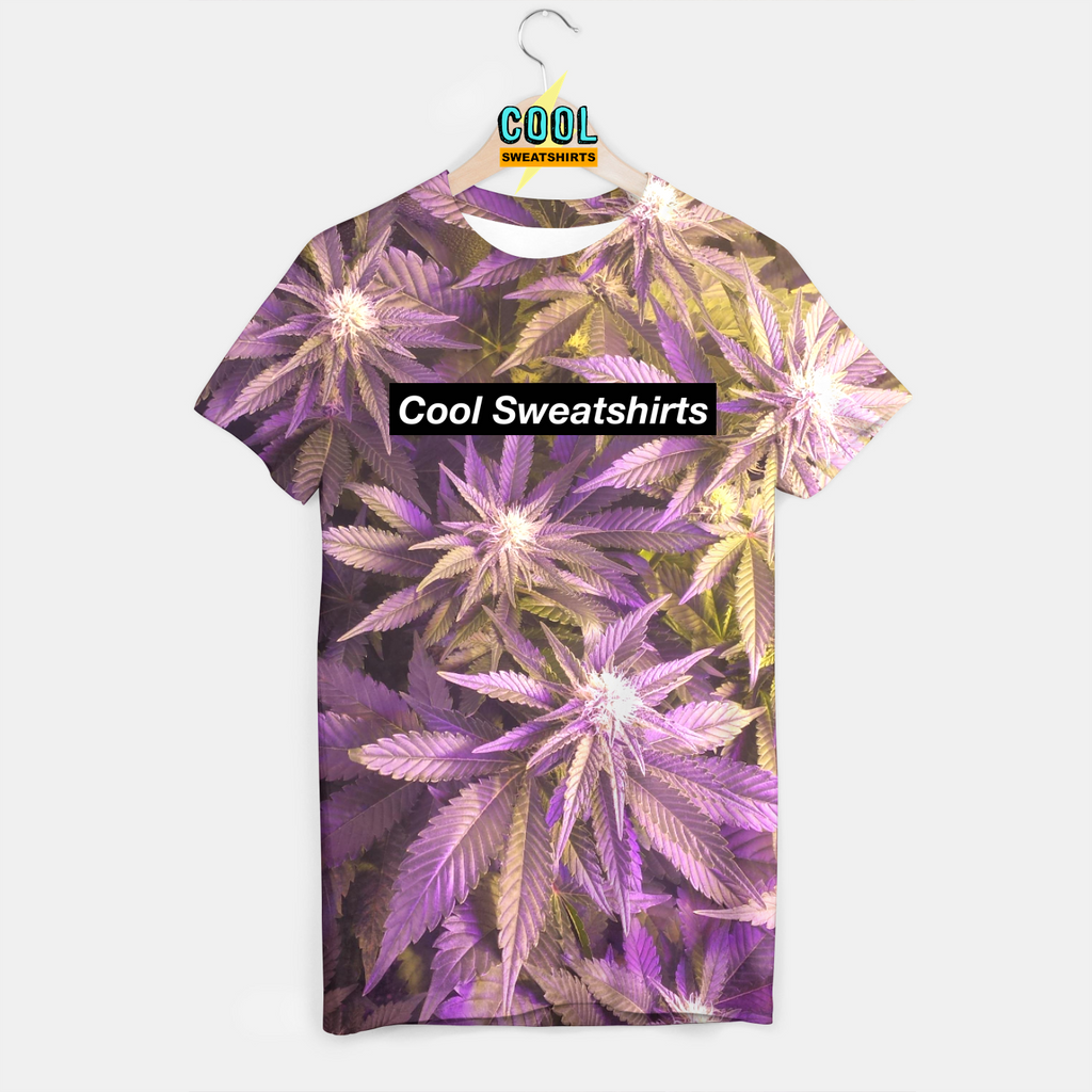 Cool Sweatshirts for men & women: Gold Purp weed Leaves Shirt, SexySweaters, Sexy Sweaters, EDM, Rave, Ugly Christmas Sweaters, Mr Gugu & Miss Go, HypeBeast