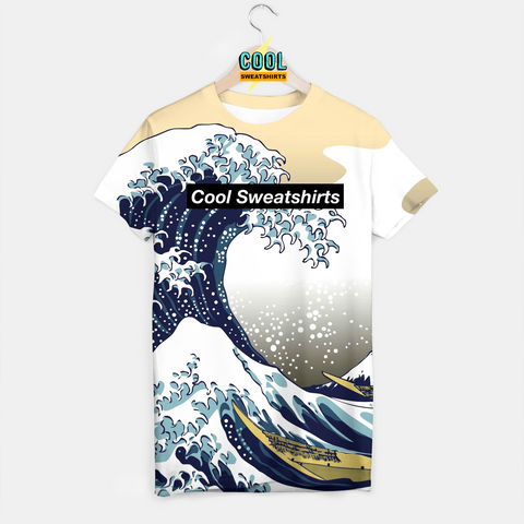 Cool Sweatshirts for men & women: Great Waves Shirt, SexySweaters, Sexy Sweaters, EDM, Rave, Ugly Christmas Sweaters, Mr Gugu & Miss Go, HypeBeast