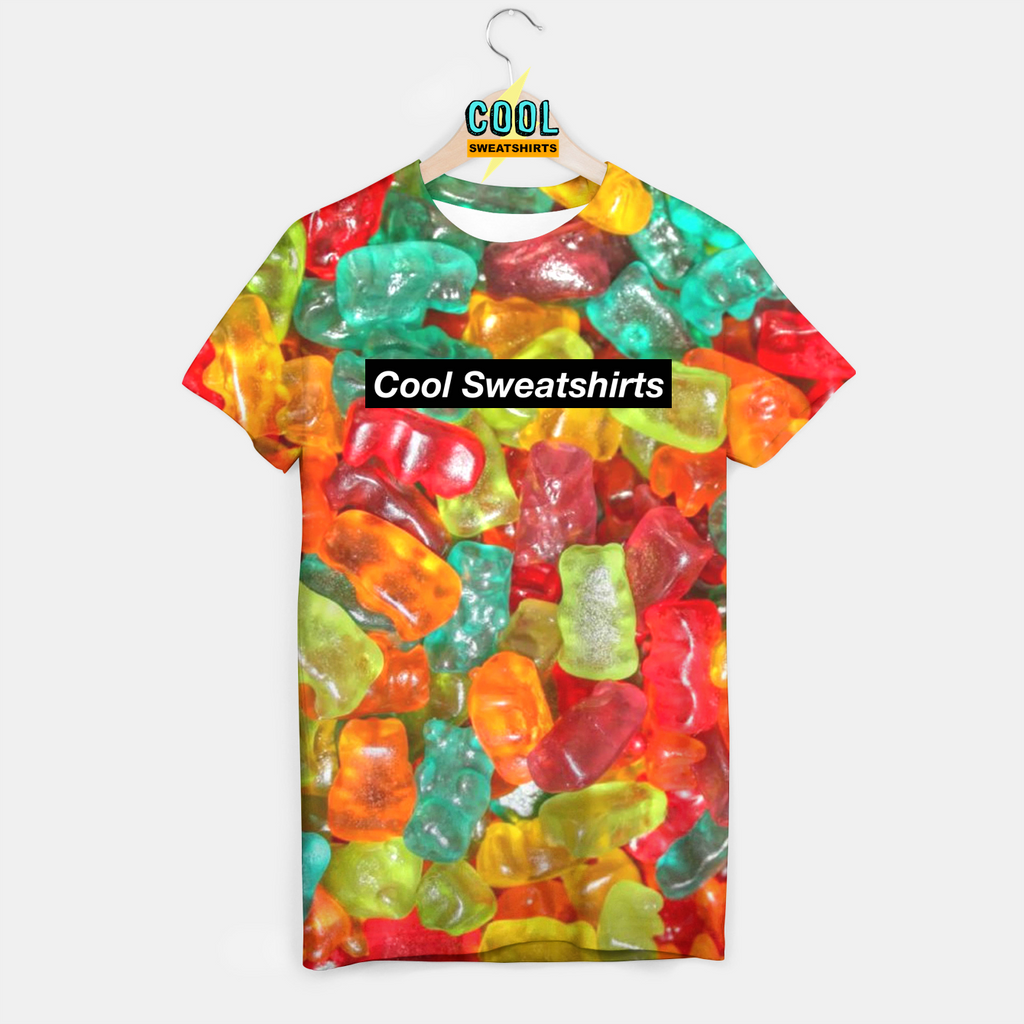 Cool Sweatshirts for men & women: Gummy Bears Shirt, candy, haribo, SexySweaters, EDM, Rave, Ugly Christmas Sweaters, Mr Gugu & Miss Go HypeBeast