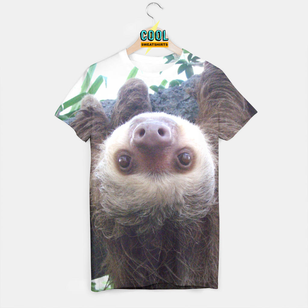 Cool Sweatshirts for men & women: Hanging Out Sloth Shirt, Hanging From Tree Monkey, EDM, Rave, Ugly Christmas Sweaters, Mr Gugu & Miss Go HypeBeast